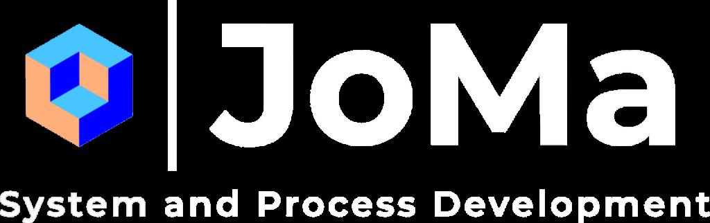 joma logo white